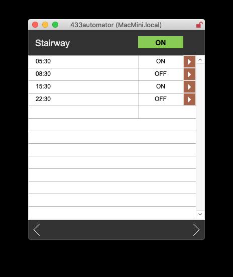 Mobile control app
