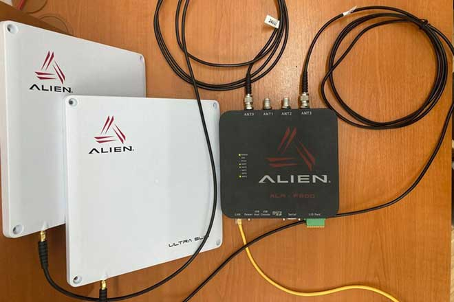 Alien static UHF RFID reader