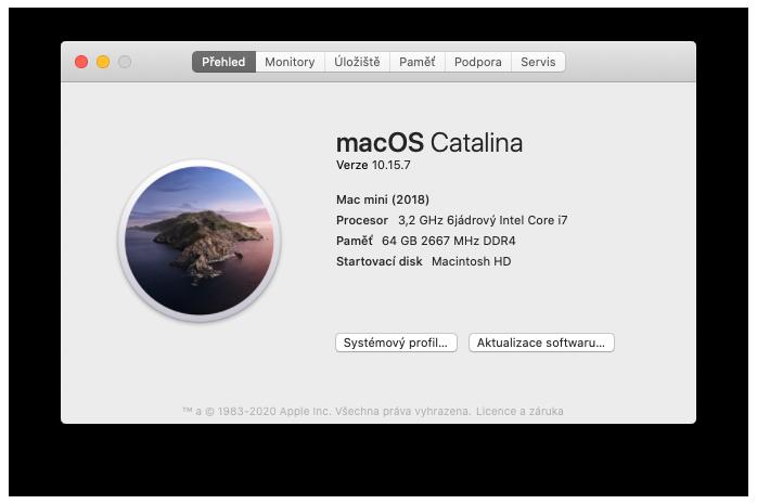 Mac mini Core i7 config