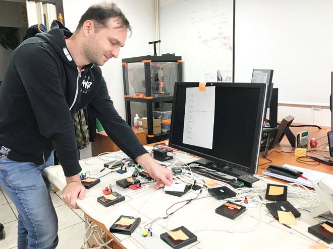 Testing RFID automation